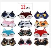 Kids' Sleeping Masks (12 pack)