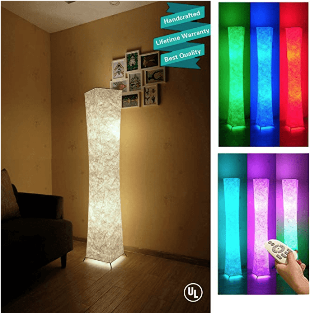 LED Floor Lamp in multiple colors