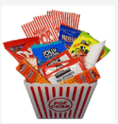 Popcorn Bucket with Candy