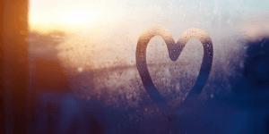 Heart on a Window