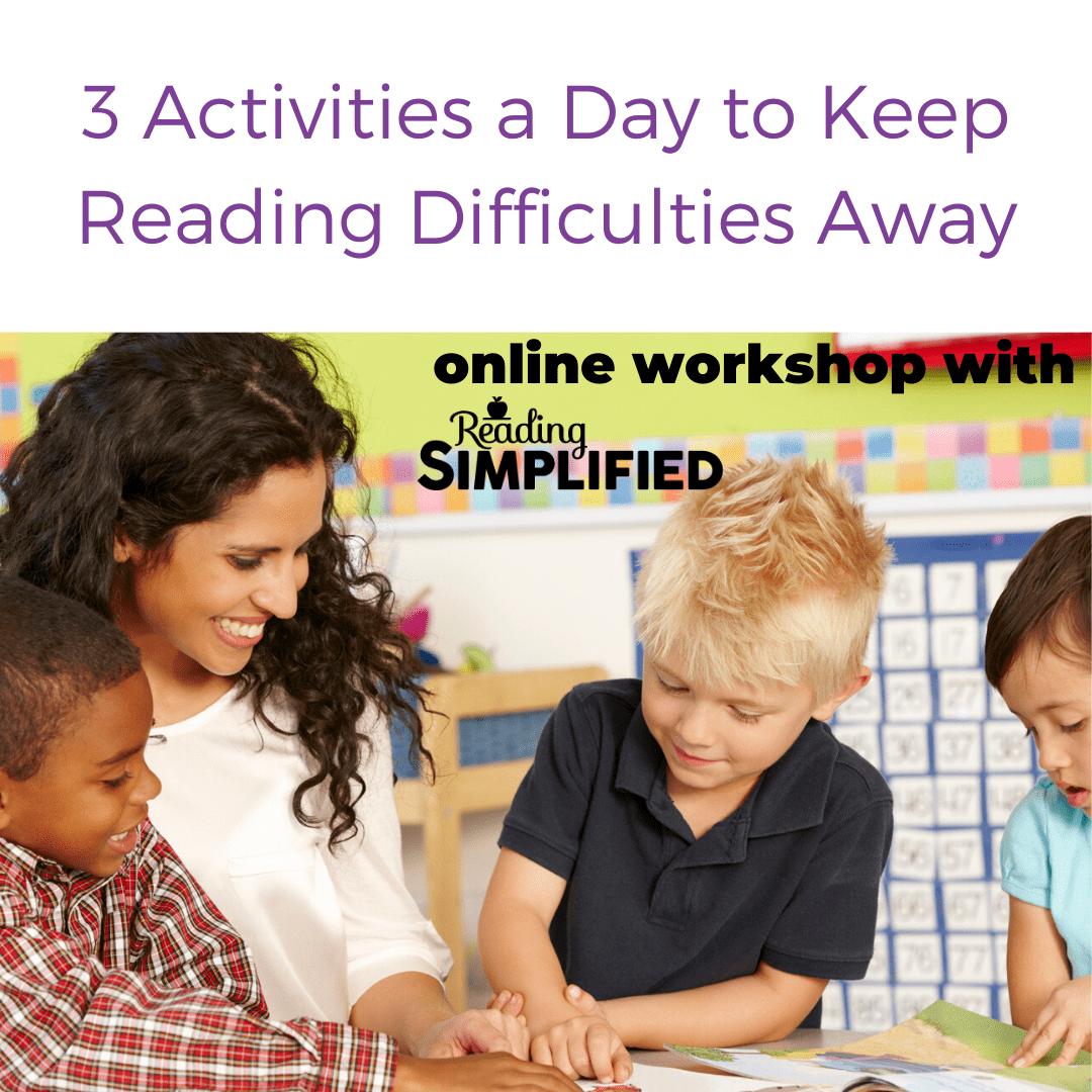 Workshop for Struggling Readers