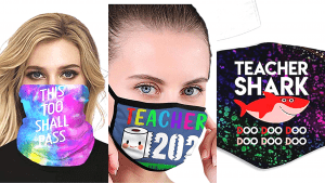Face masks for teachers