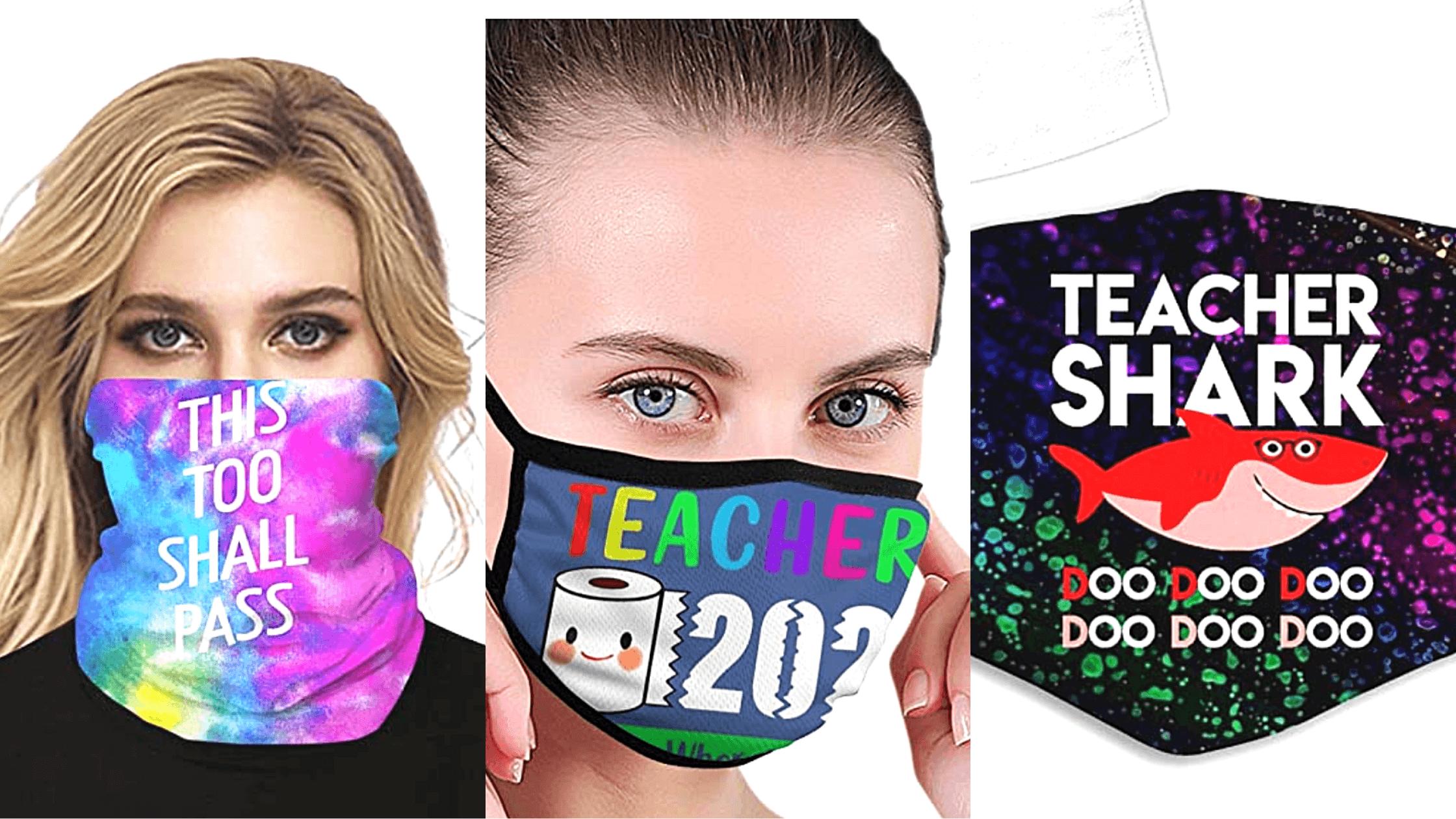 Face masks for teachers