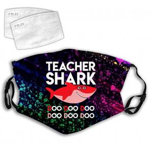 Teacher Shark Face Mask