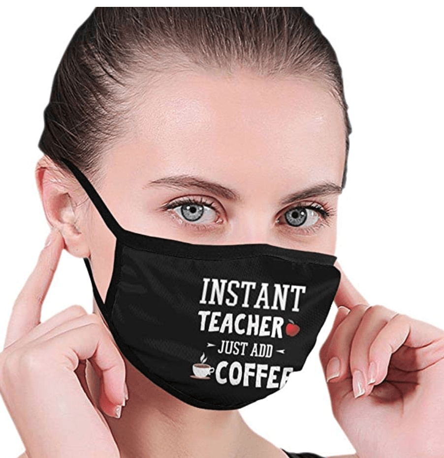 Instant Teacher Face mask