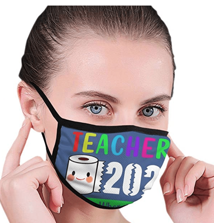 Teacher 2020 face mask