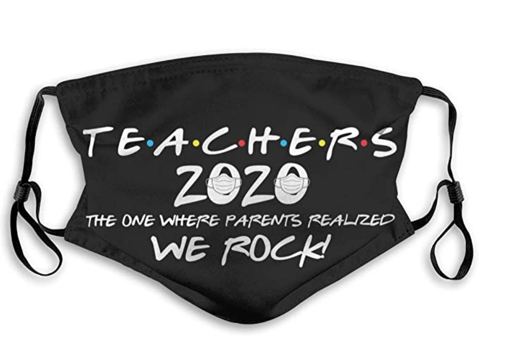 teachers 2020 parents face mask