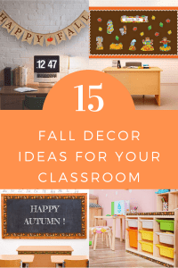 15 Fall Decor Ideas for Your Classroom
