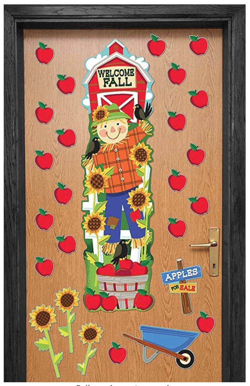Scarecrow Fall Door Decor