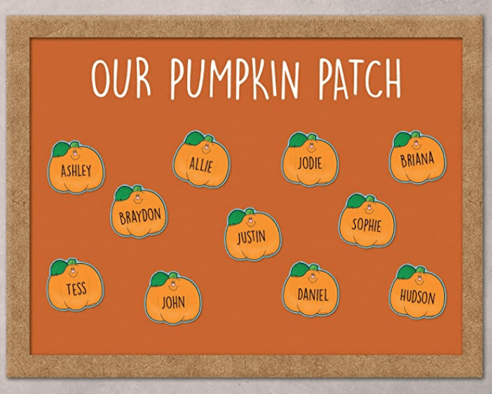 Our Pumpkin Patch Bulletin Board